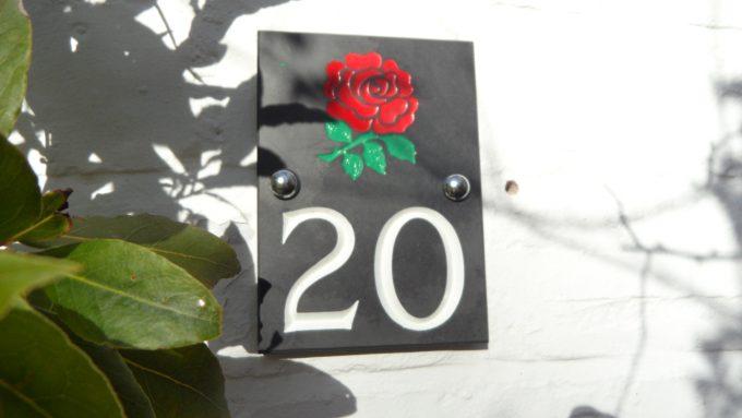 slate house number uk