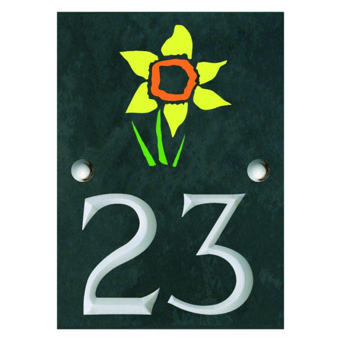 slate house number plates