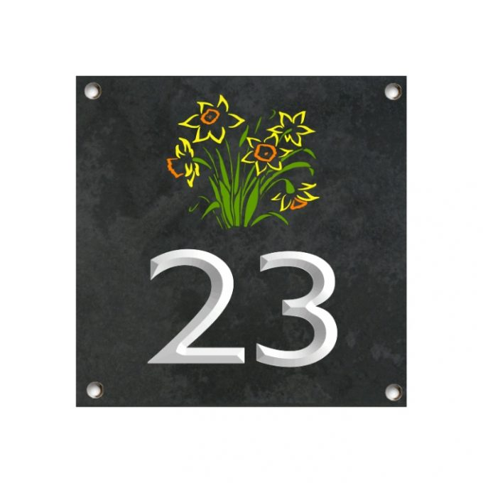 house number plate design